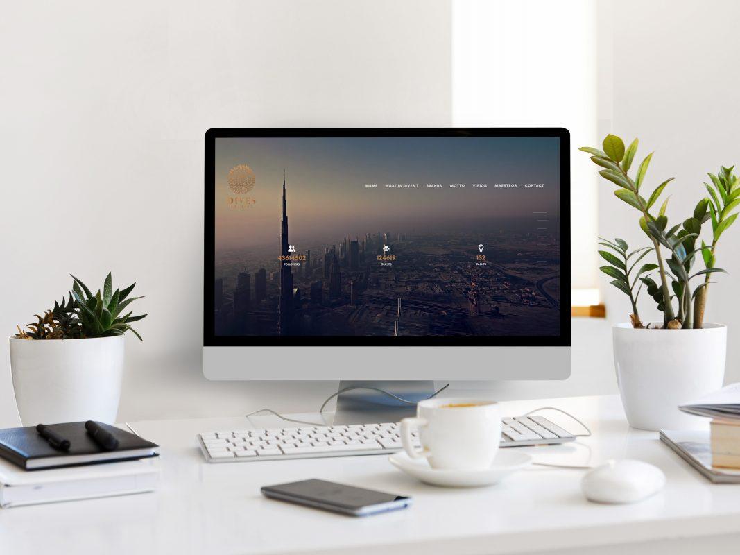Dives Holding Web Site Tasarımı